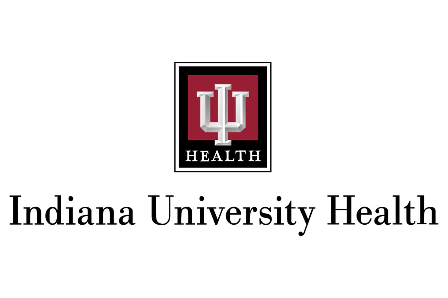 The IU health logo.