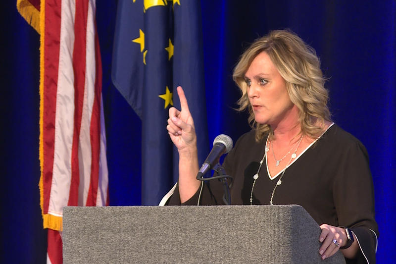 Jennifer McCormick leads the Indiana Department of Education as the state's last elected superintendent of public instruction.