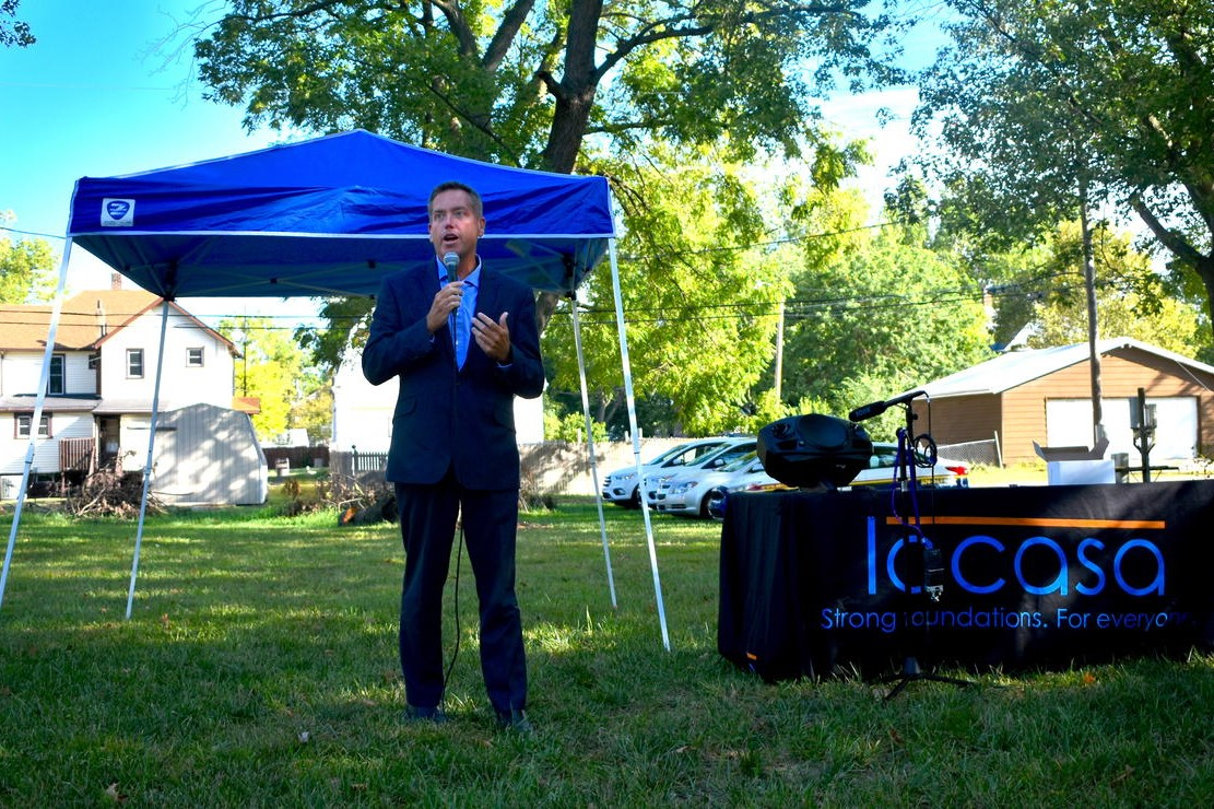 Jacob Sipe, executive director of the Indiana Housing and Community Development Authority