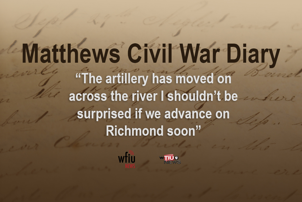 May 11 quote from civil war diary