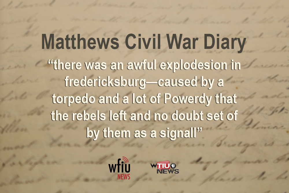 May 25 quote from civil war diary