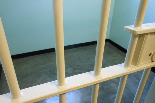 A generic image of cell bars at the Monroe County Jail.
