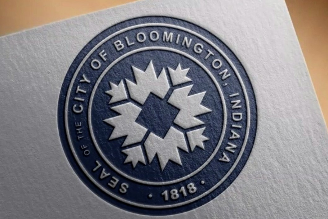 The proposed new seal for the City of Bloomington.