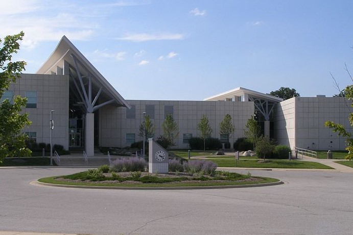 A building on the campus of Ivy Tech Northwest in Valparaiso, Indiana.