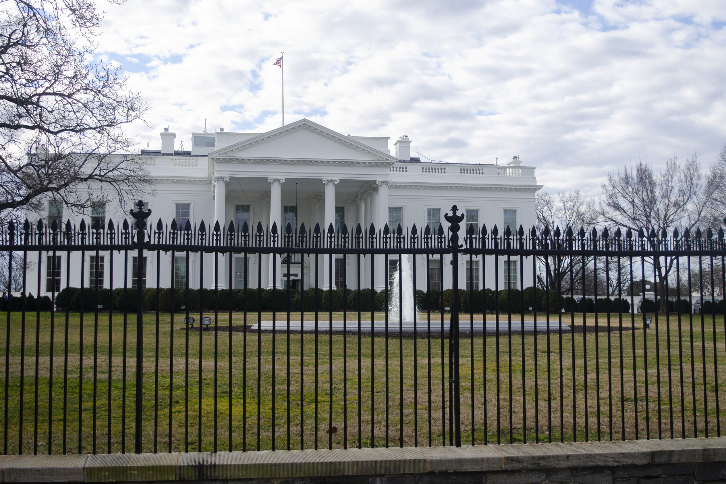 An NPR photo of the White House.