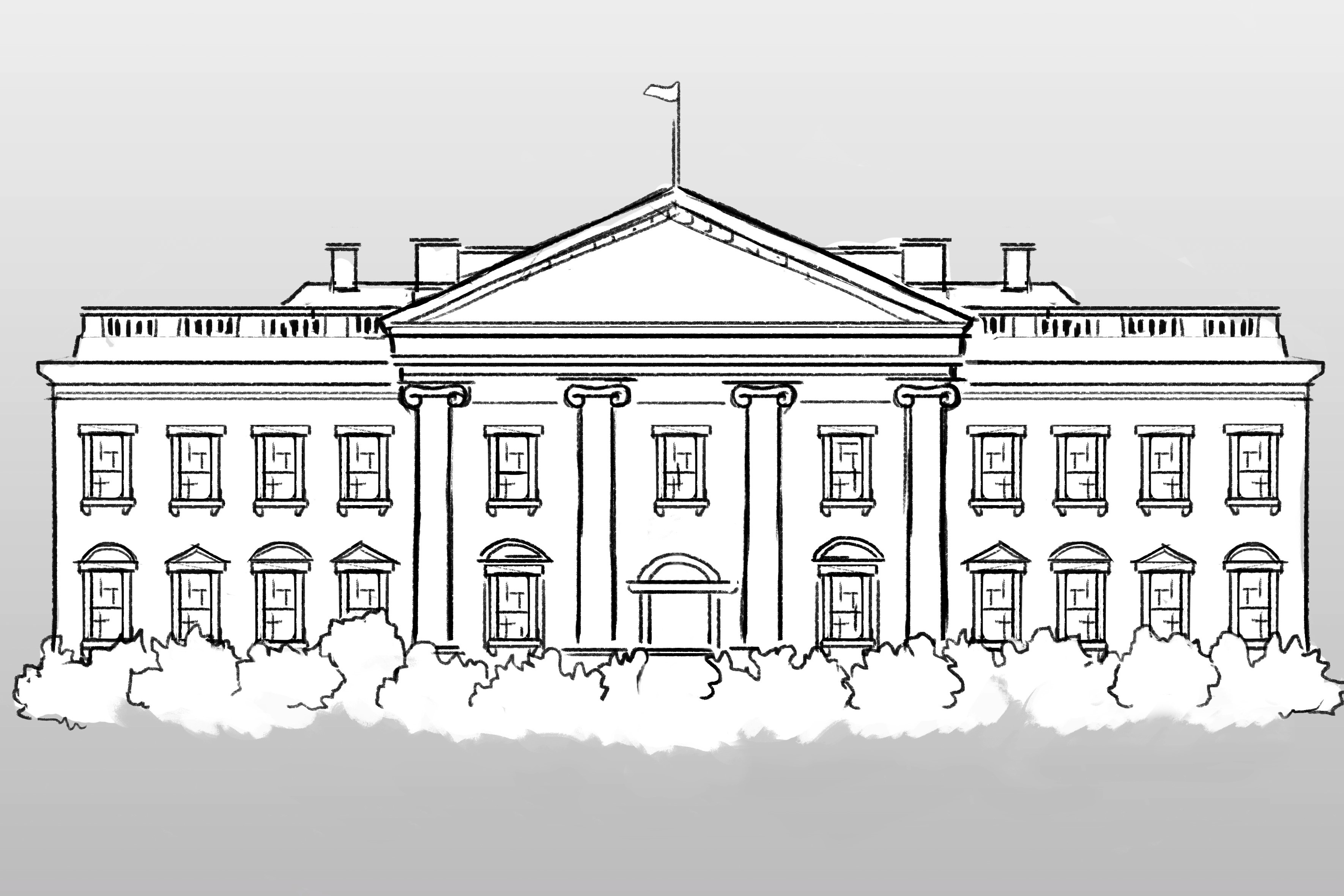 whitehouse drawing
