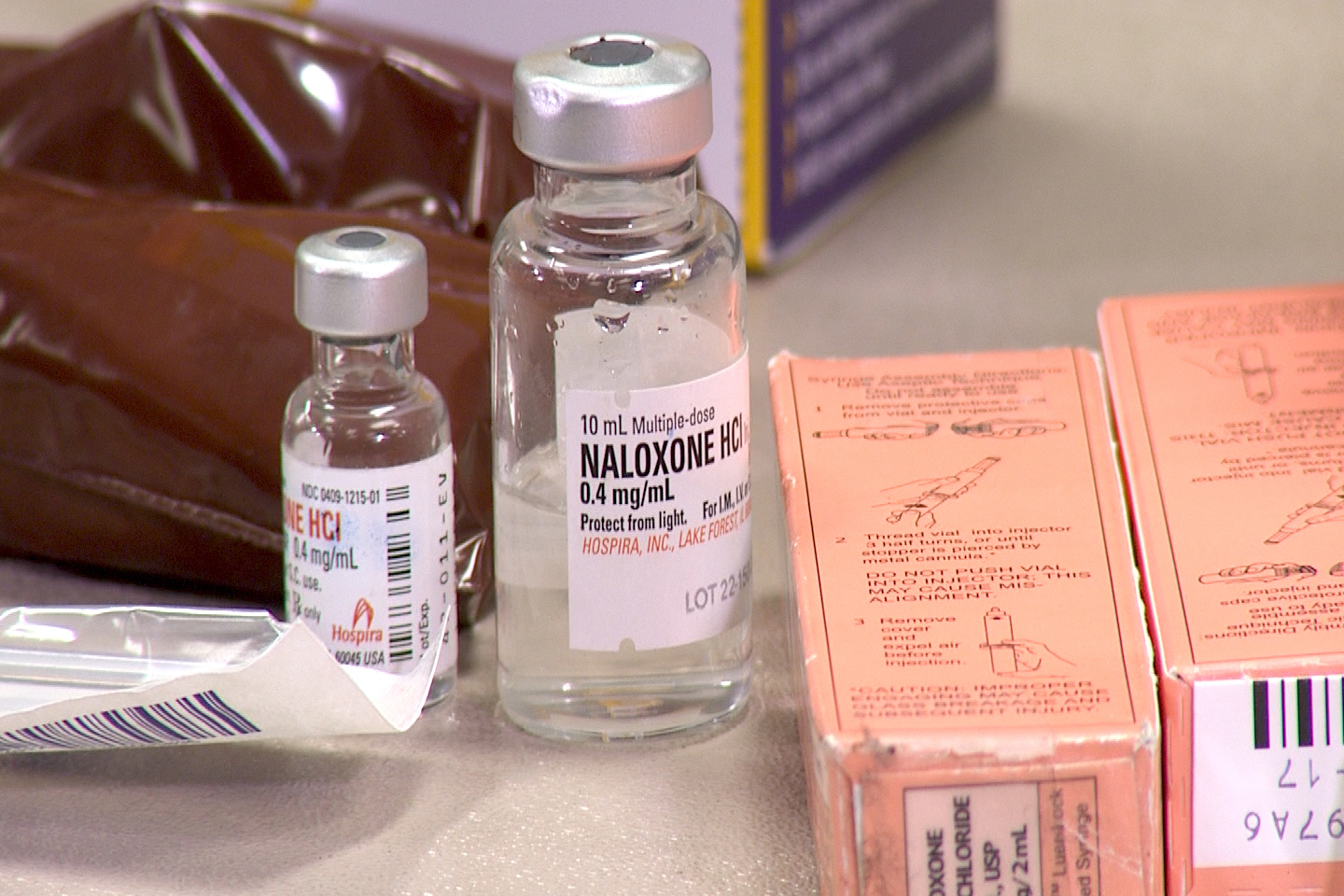 Naloxone is an overdose-reversal drug used to curb life-threatening overdoses.