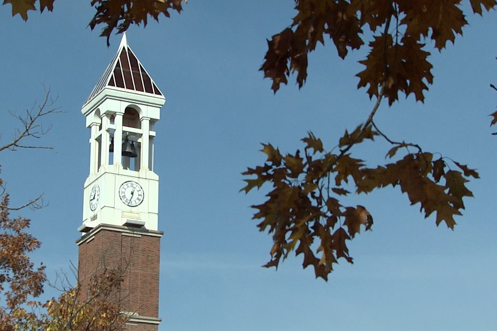 The Purdue clock tower.