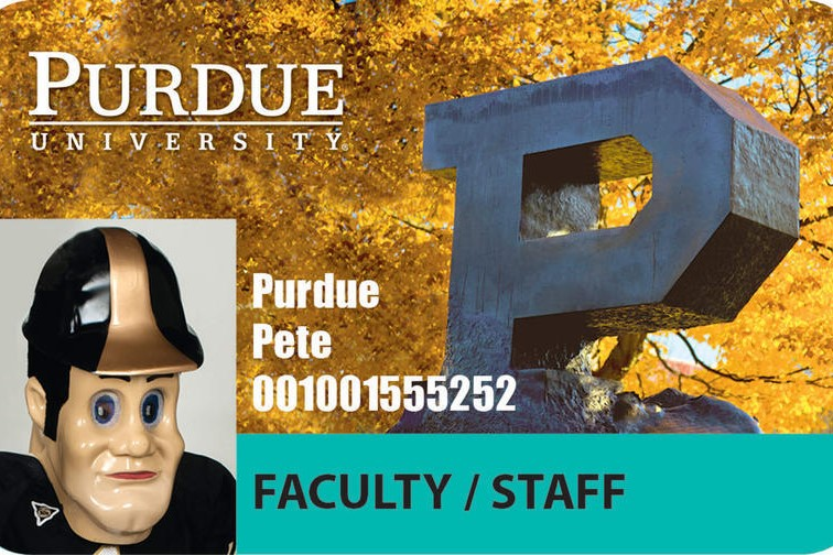 Purdue ID's now have printed expiration dates to meet Indiana Voter ID Laws.