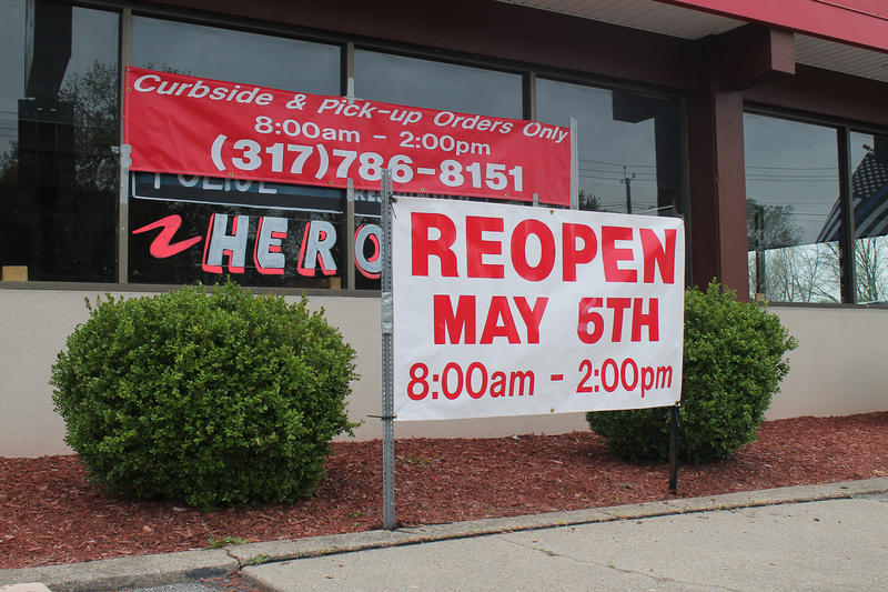 Restaurants across the state were able to reopen
