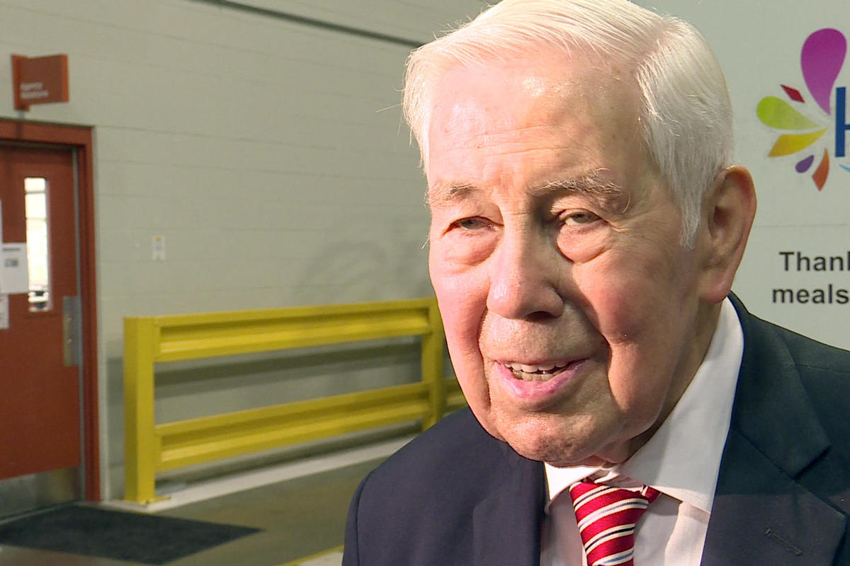 The late U.S. Sen. Richard Lugar.