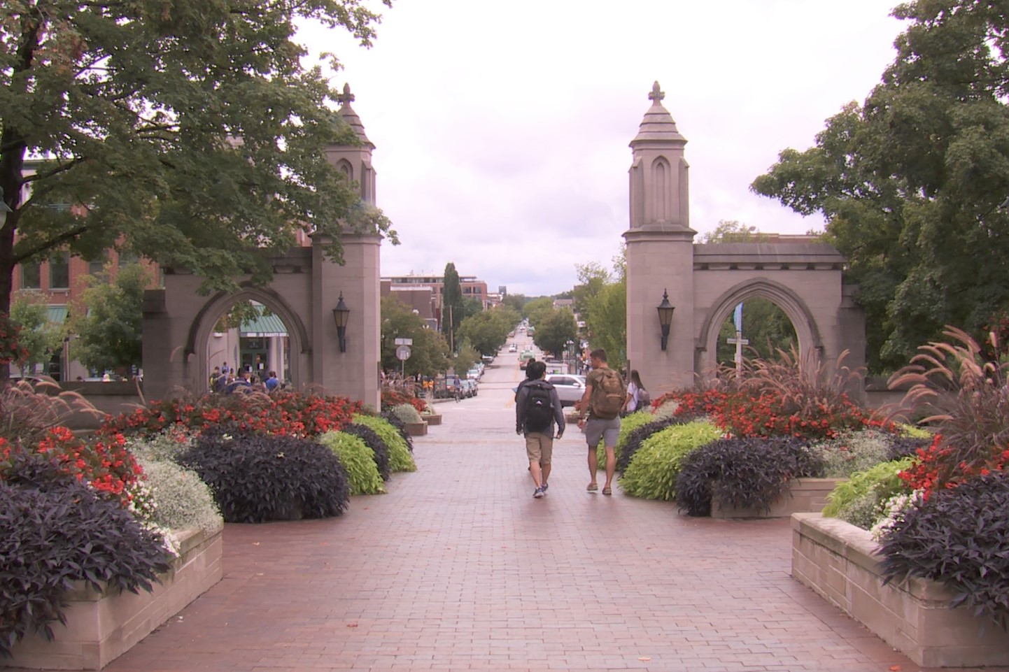 Sample Gates on IU's campus, August 2019.