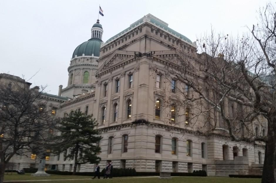 Photo of the Indiana Statehouse