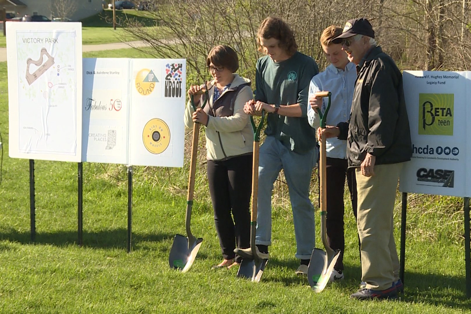Brown County Breaks Ground On Skate Park