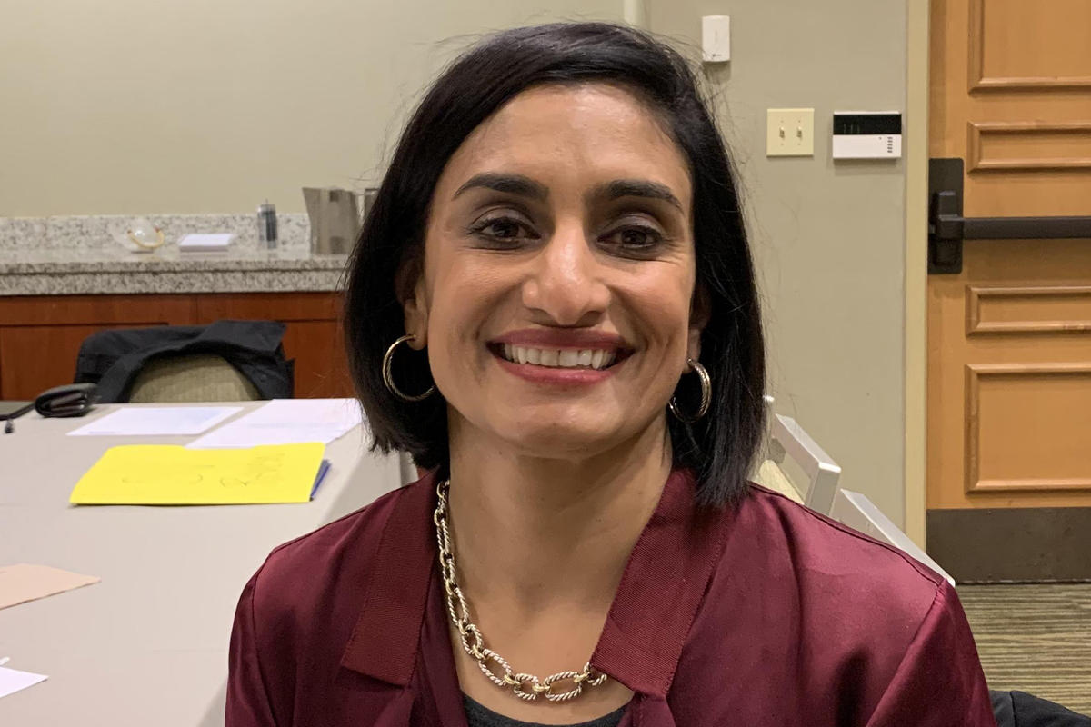 Seema Verma, the country's top Medicare official, says premiums are down an average of 15 percent.