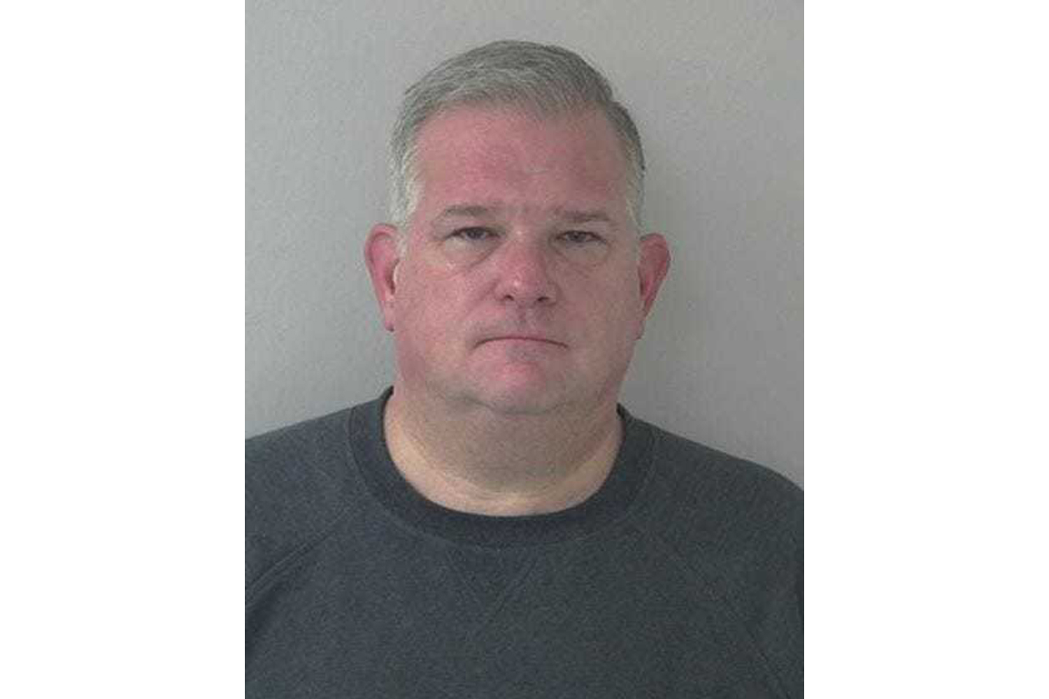Former Franklin College President Thomas Minar in a mugshot from the Door County Sheriff's Office.