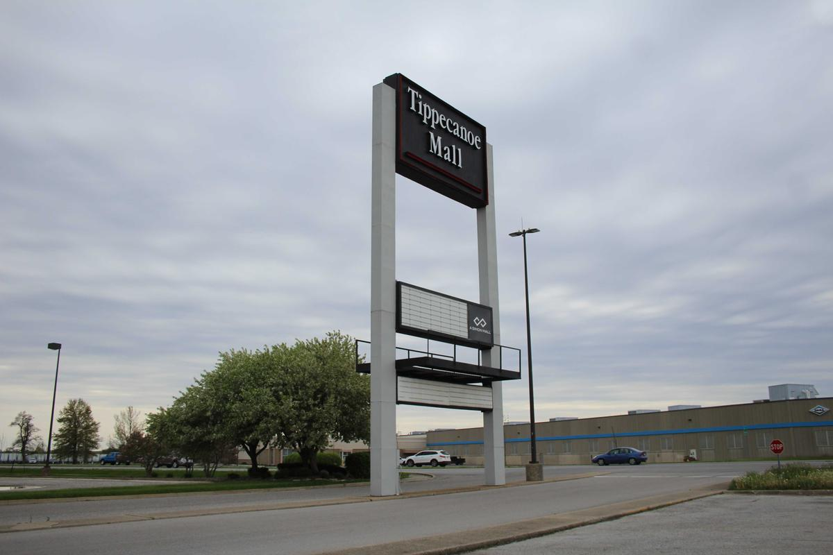 Tippecanoe Mall sign