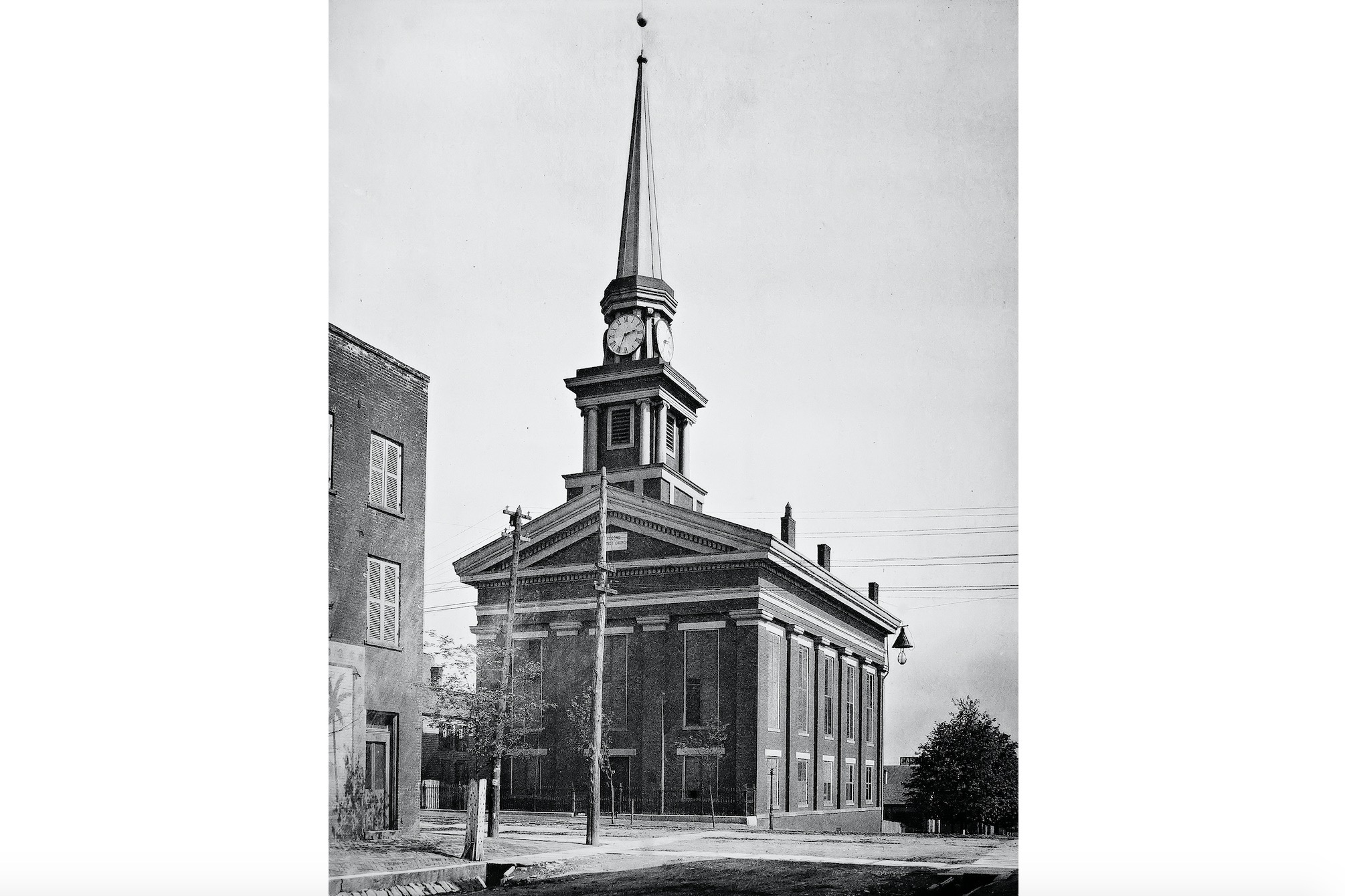 Town Clock Church New Albany