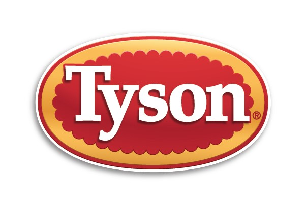 The logo for Tyson Foods.