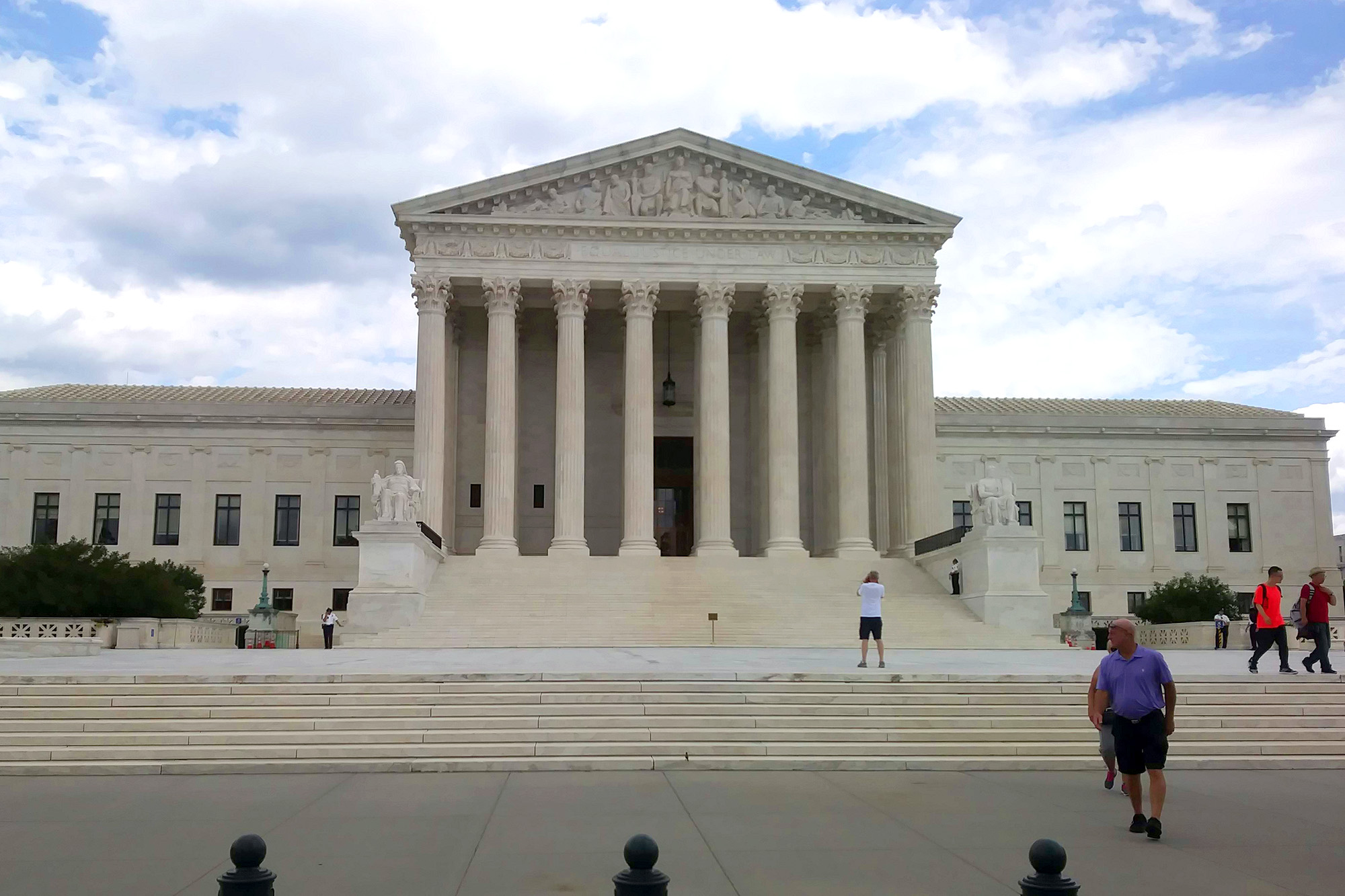 The United States Supreme Court building.