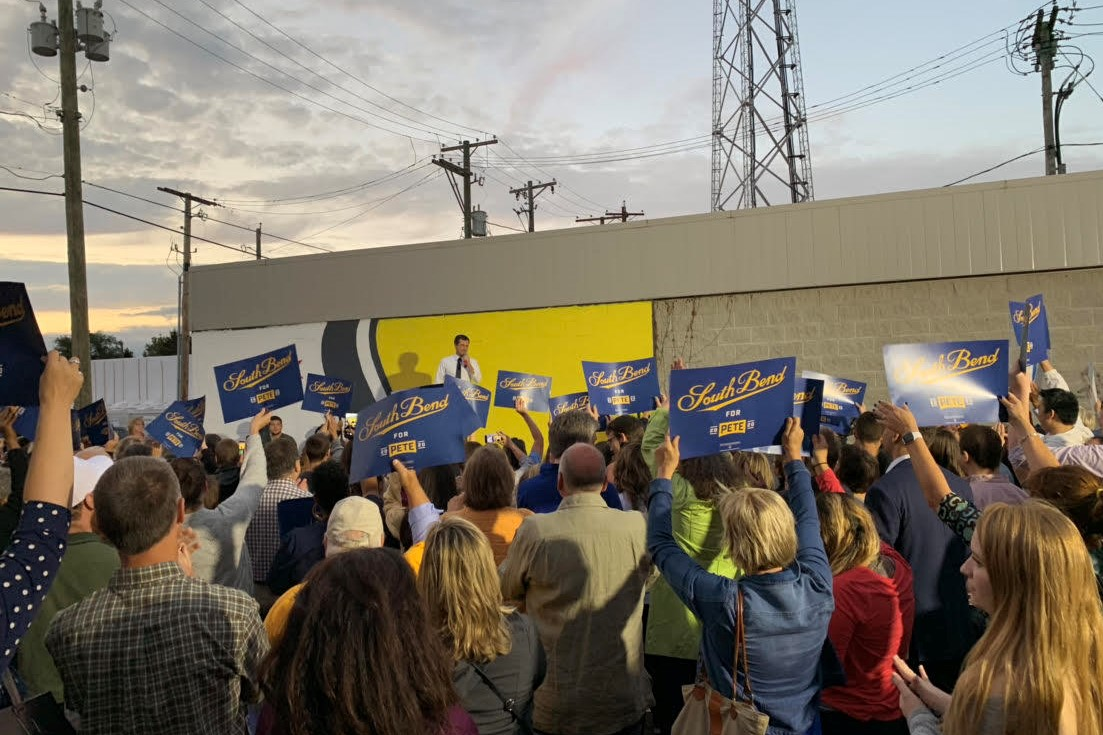 Buttigieg in South Bend