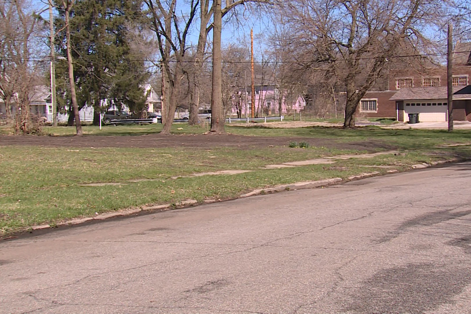 Vacant lot in South Bend