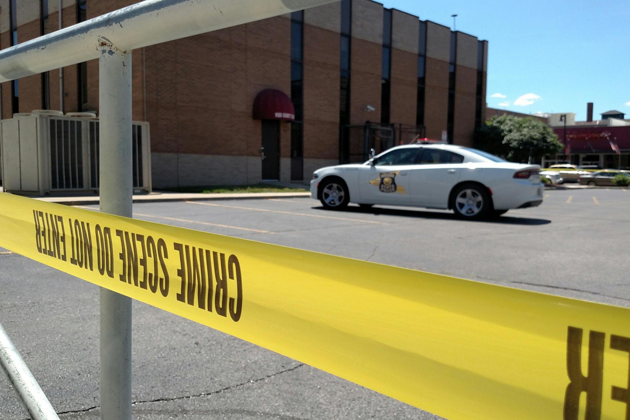 Vigo county schools crime scene tape