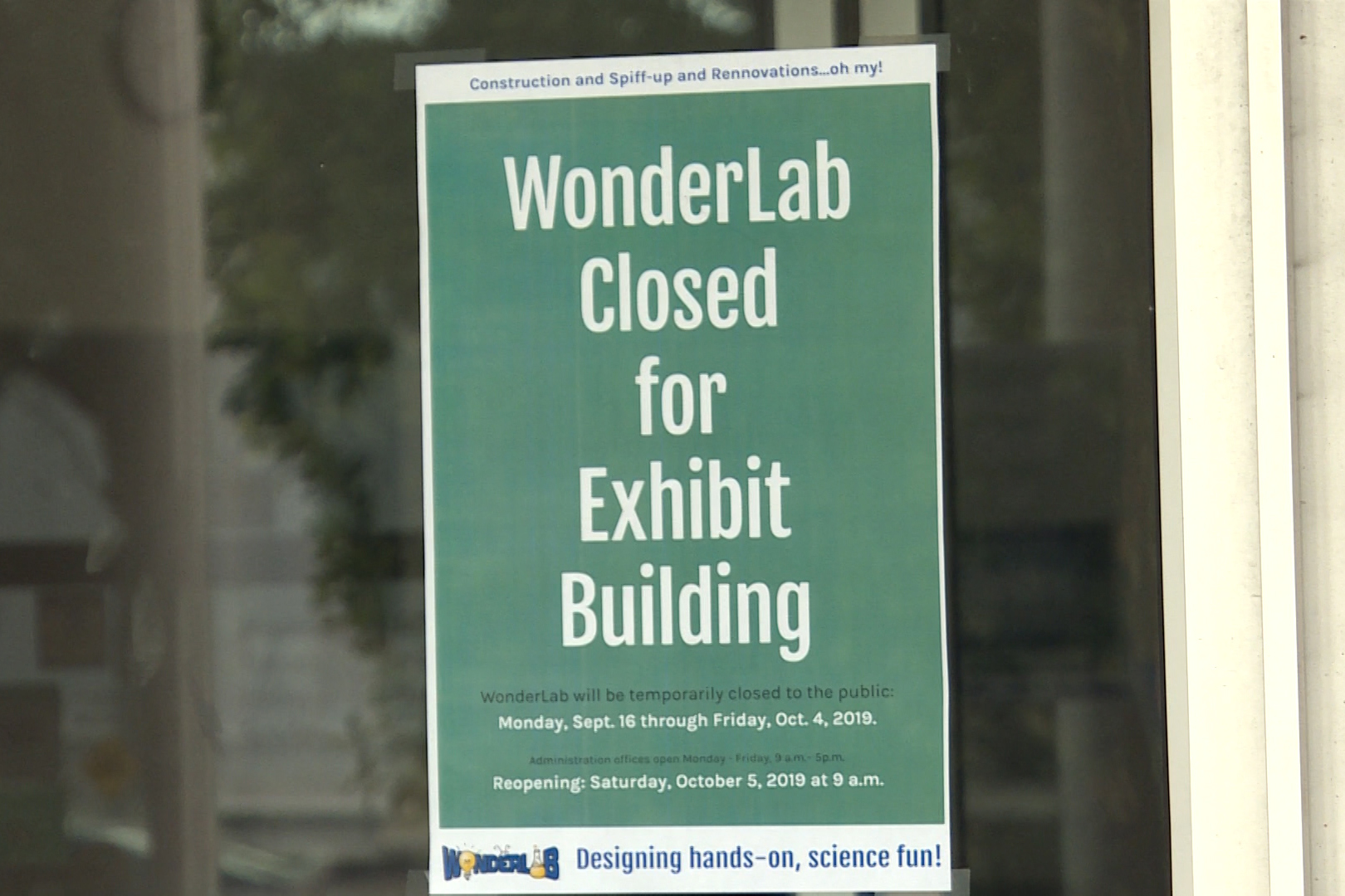 WonderLab Closed