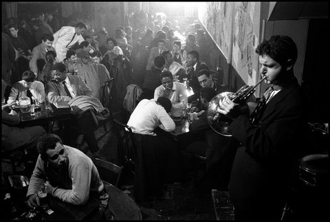 David Amram New York City 1957