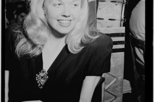 Doris Day in 1946 at New York City's Aquarium nightclub.