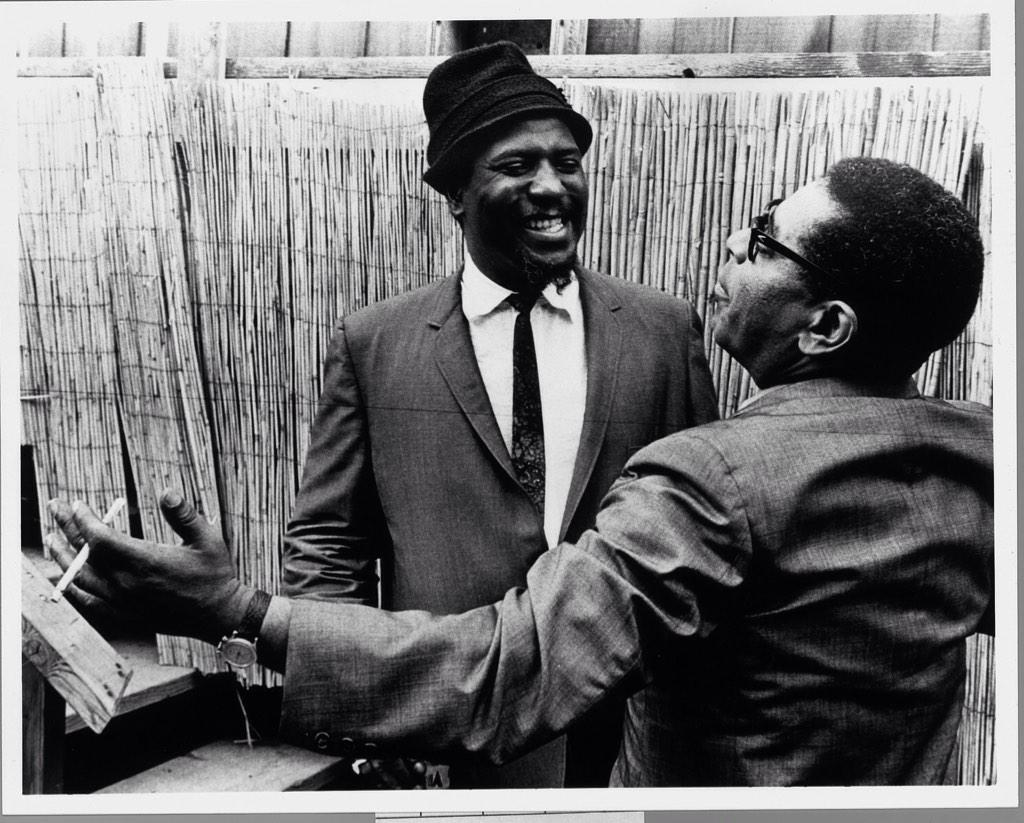 Monk and Dizzy at Monterey Jazz Festival 1963