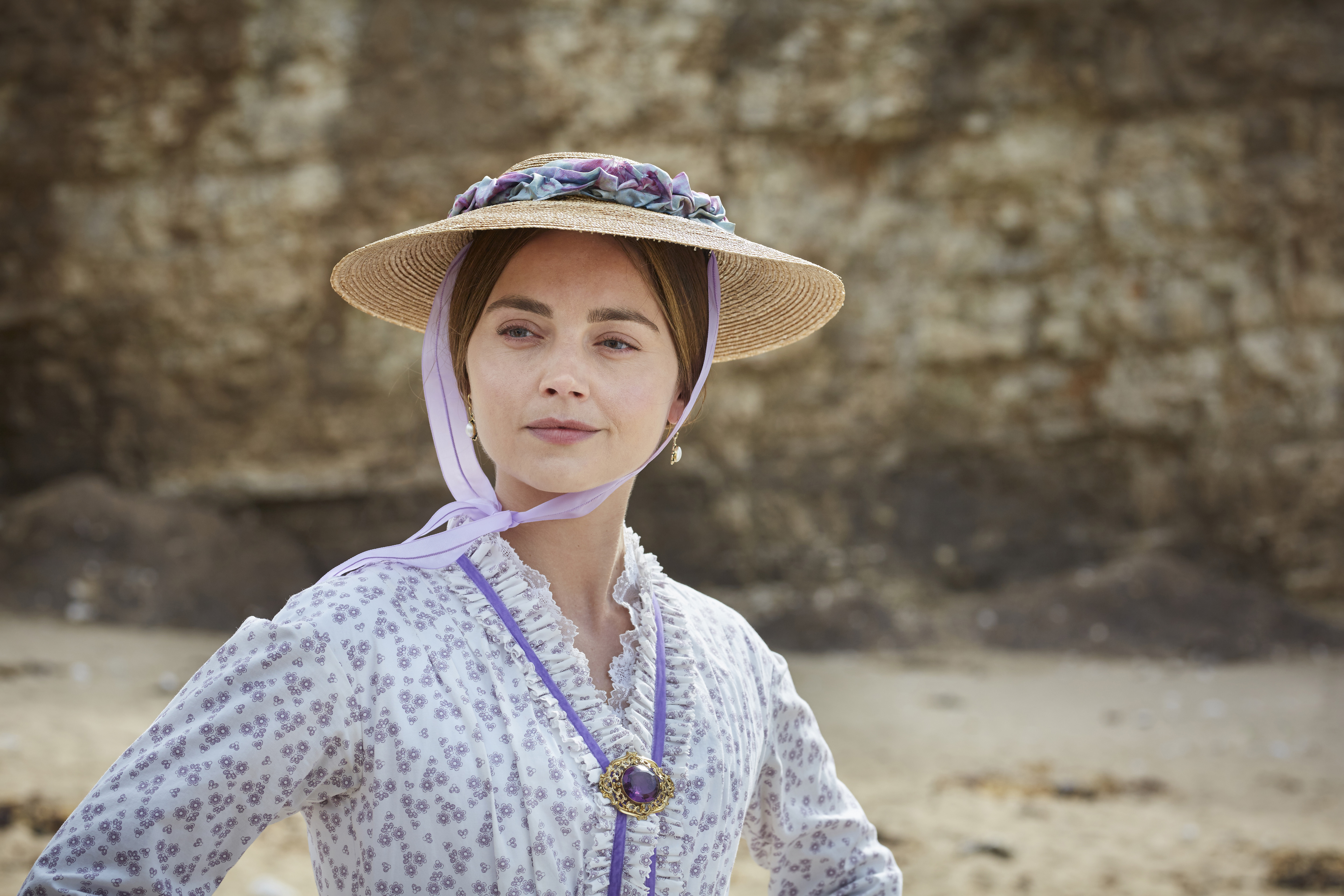 Queen Victoria played by Jenna Coleman