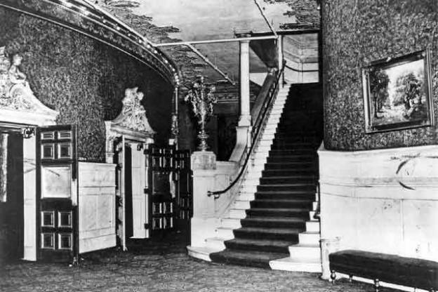 English Hotel Lobby