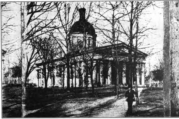 Indiana Statehouse, 1860