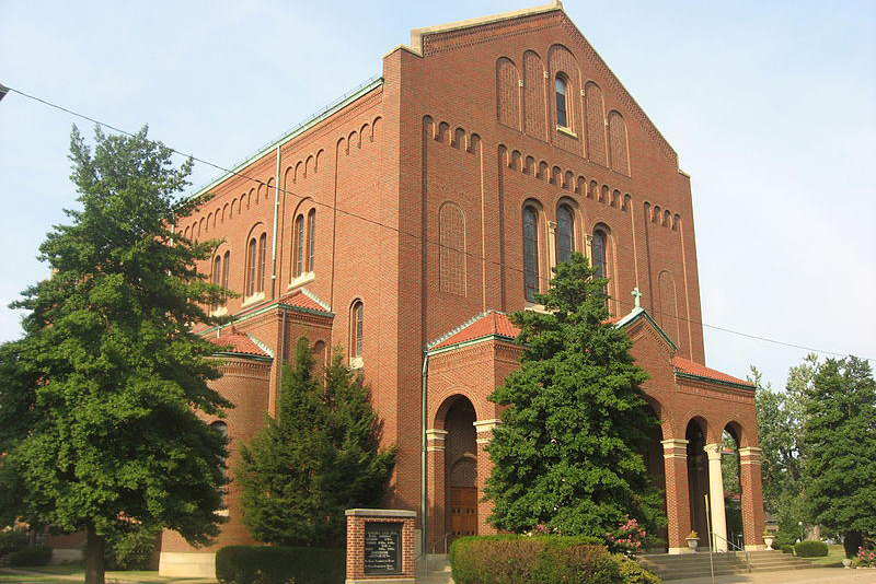 A church building