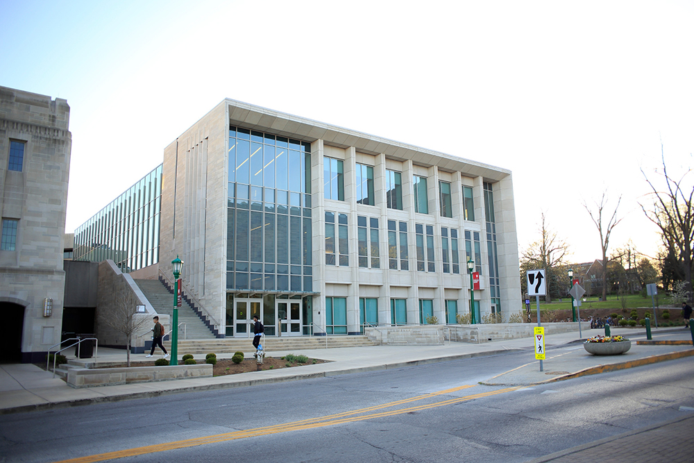 The school of public and environmental affairs building at IU Bloomington
