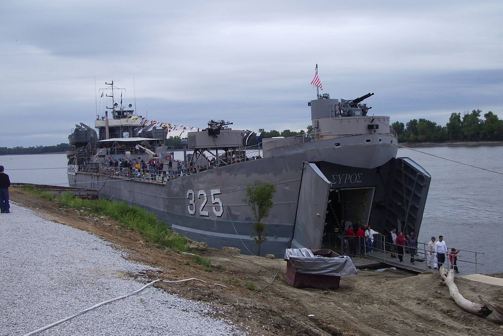 Evansville Officials Back Project For Wwii Troop Ship Move