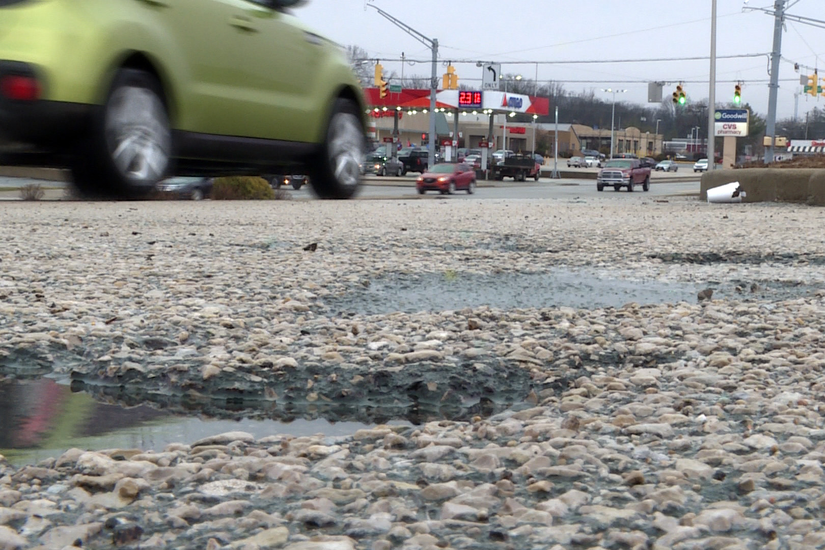 Potholes in Bloomington