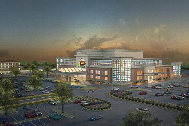 Rendering of a proposed Terre Haute casino