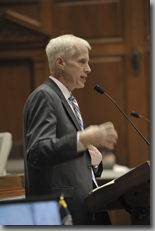 House Education Chair Robert Behning is one of a number of Indiana legislators with ties to The American Legislative Exchange Council
