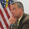 State superintendent Tony Bennett presides over an Indiana State Board of Education meeting on Wednesday, December 7.