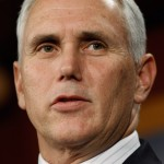 Current Indiana Governor Mike Pence will run for a second term. (Photo Credit: Chip Somodevilla/Getty Images)