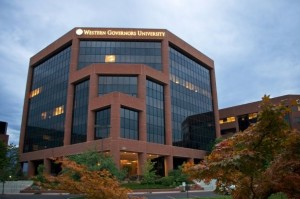Western Governors University has its headquarters in Salt Lake City, but most online students never visit the Utah campus. About a third of WGU students in Indiana are enrolled in the school's teachers college.