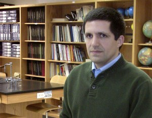 Indiana University researcher Adam Maltese is a former science teacher.