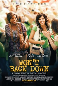 'Won't Back Down,' a movie about parent trigger laws, is in theaters Sept. 28.