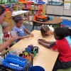 Students at a pre-kindergarten camp in Avon, Ind., play a counting game. Many are calling on the legislature to expand the current pre-k pilot program to help more kids. (Elle Moxley/StateImpact Indiana)