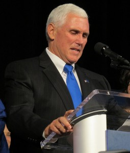 Indiana Gov. Mike Pence (Photo Credit: Kyle Stokes/StateImpact Indiana)