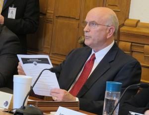 A 2013 file photo of State Sen. Dennis Kruse, R-Auburn. (Kyle Stokes/StateImpact Indiana)