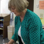Melinda Bundy teaches ninth grade English at Cathedral High School in Indianapolis.
