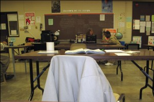 Students in Dawn Grage's GED classroom are trying to pass the high school equivalency test before it changes on Jan. 1, 2014.